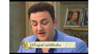 La historia de Topa que emocionó a Mirtha Legrand