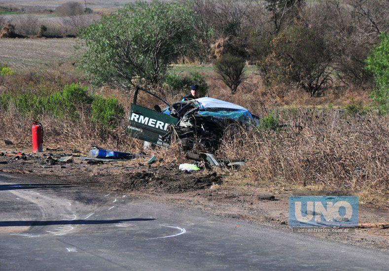 Murieron los conductores que protagonizaron violento accidente en el Acceso Norte