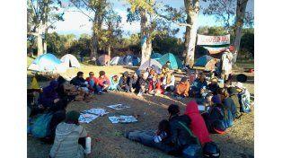 Este domingo se hará una asamblea antitermal en la Toma Vieja.   Foto: Facebook / Más Ríos Menos Termas