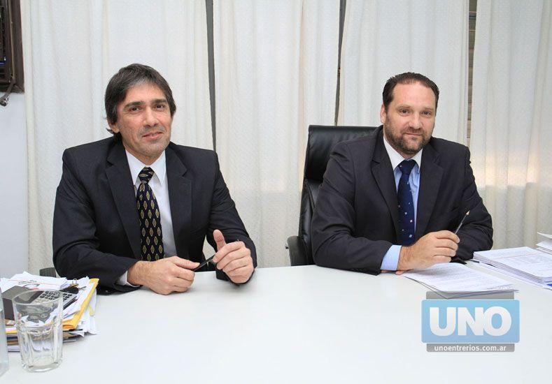 Avances. Norberto Fornari y Carlos Alonso del PAMI