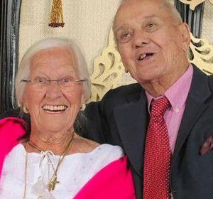 Jeanette Cushman y su marido