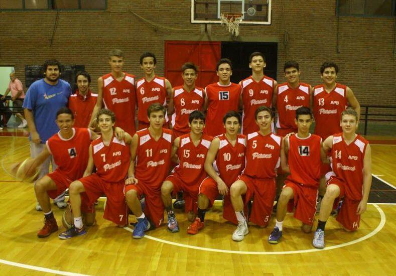 Los chicos del combinado paranaense representan a un total de 10 instituciones.Foto Gentileza/Prensa APB