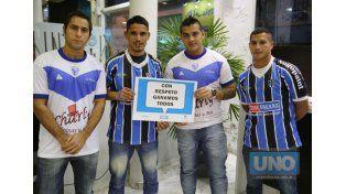 Fútbol sin violencia. .Foto UNO/Diego Arias