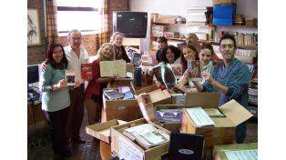 Cifras. La biblioteca recibió 586 libros y 870 revistas.