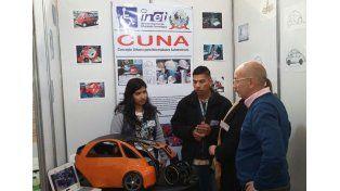 """Innovador. """"Concepto Urbano para Necesidades Automotrices"""" es uno de los proyectos exhibidos."""