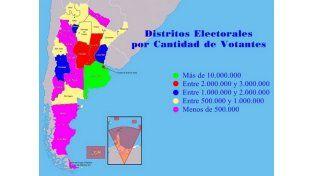 En Entre Ríos son 1.030.519 los votantes habilitados