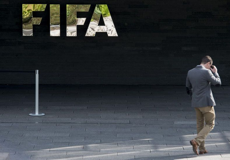 Sede de la FIFA.  Foto: AP