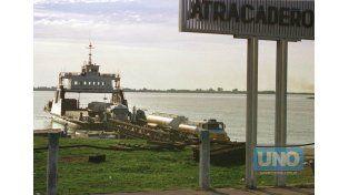 Otros tiempos. Fue el acceso a Paraná de muchas generaciones. Foto UNO/Archivo