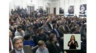 Cristina encabezó una entrega de premios a científicos y mantuvo videoconferencias en Casa Rosada