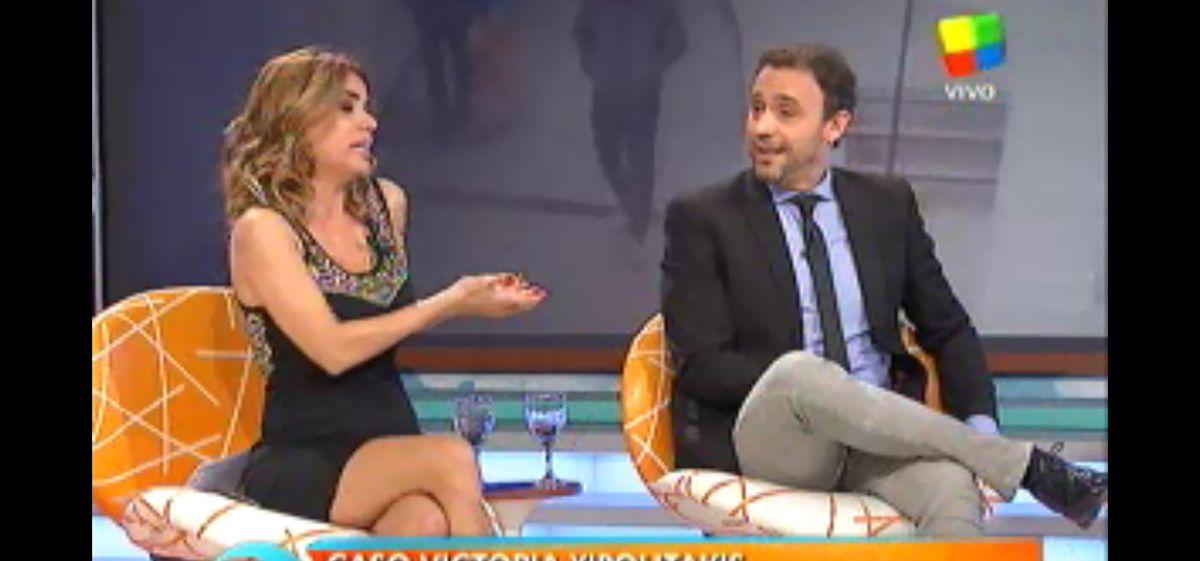 La chicana en vivo de Adrián Pallares que hizo llorar a Marina Calabró en Intrusos