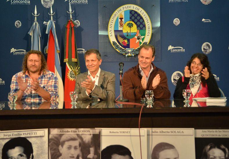 Presentan en Paraná el libro No son solo Memoria