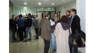 Audiencia.  El fiscal de Estado sostuvo que las partes acordaron sobre la situación respecto del Fonid.
