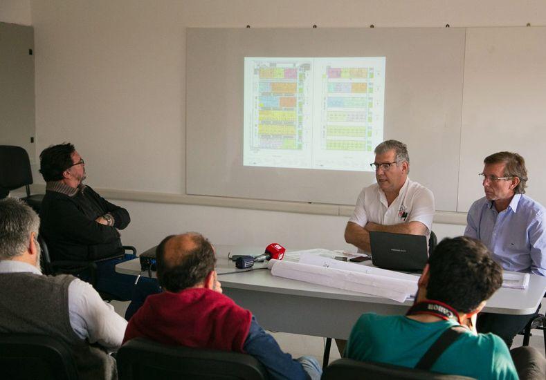 Entregaron la primera parte de la obra del nuevo hospital de Gualeguaychú