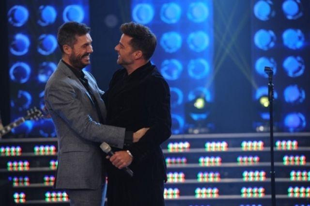 Todas las fotos de la visita de Ricky Martin a ShowMatch