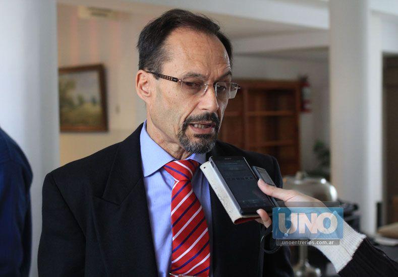 Foto: El procurador García confirmó la presentación. Foto: UNO/Juan Ignacio Pereira
