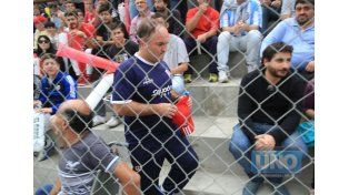 """""""Nosotros salimos de diferente forma a buscar el partido. Patronato jugó al error y a la segunda pelota"""".  Foto UNO/Juan Ignacio Pereira"""