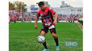 El Facha marcó el segundo. Foto UNO/Juan Manuel Hernández