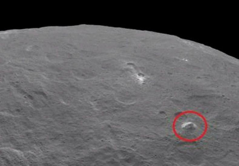 Ceres. A la derecha