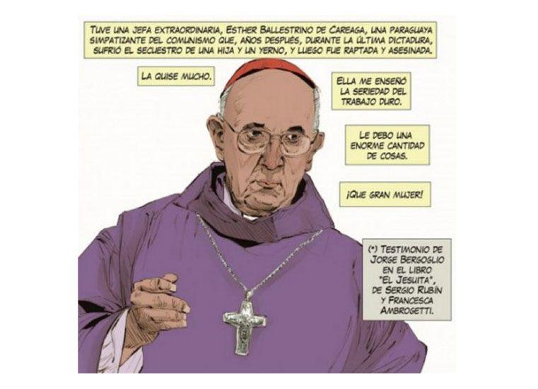 La historieta del Papa es furor en Paraguay