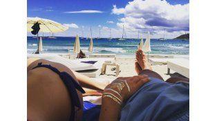 Maxi y Daniella en las playas europeas