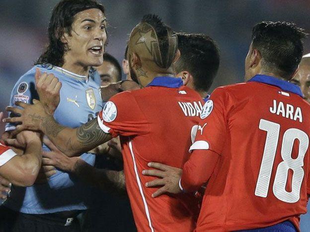 ¡De no creer! Chile denunció a siete jugadores uruguayos