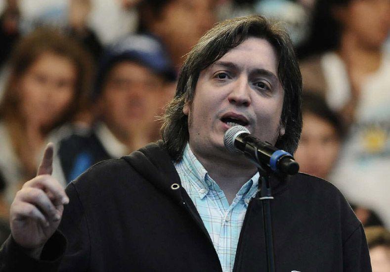 Máximo Kirchner lanzará su candidatura en Río Gallegos con Scioli y Zannini