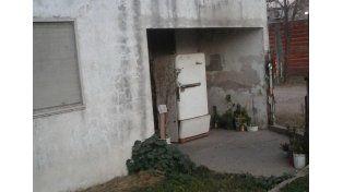 La casa de la mujer atacada. (Foto. El Día)