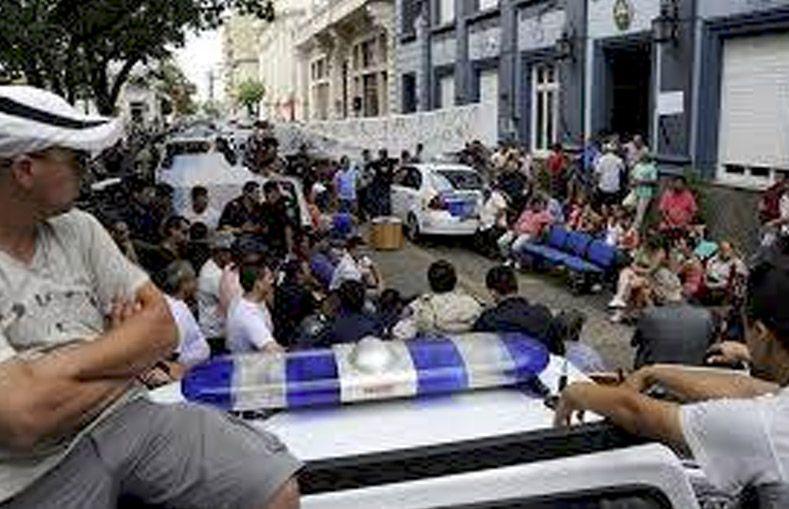 Piden la absolución para los policías acusados por sedición en Concordia