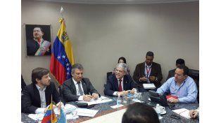 Urribarri gestionó en Venezuela la comercialización de productos entrerrianos