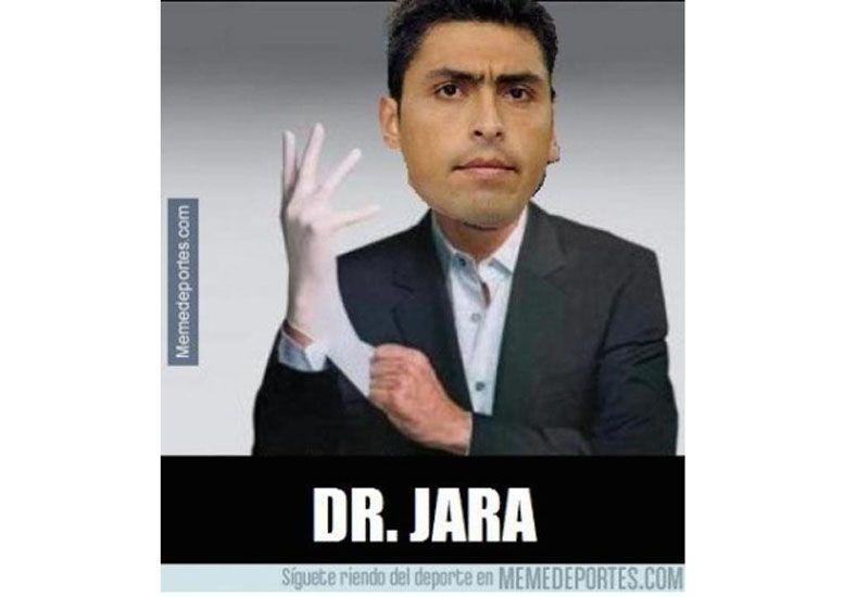 Los memes del incidente jara Cavani