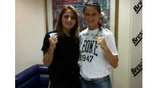 La boxeadora entrerriana Débora Dionicius habló en la antesala del duelo con Simona Galassi de mañana