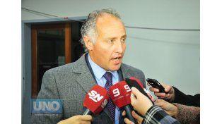 El abogado querellante Marcos Rodríguez Allende fue el primero en abandonar la audiencia en Tribunales