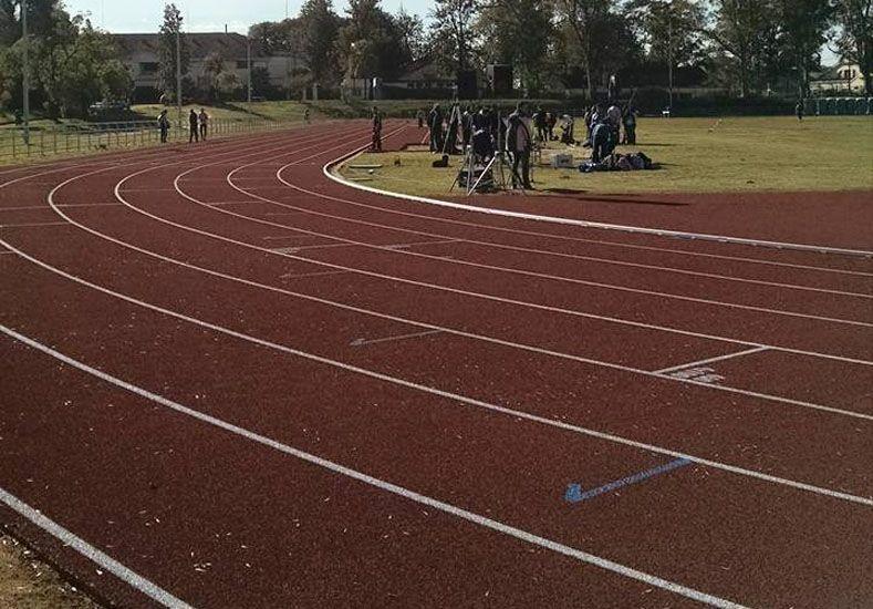 De lo mejor. La pista de atletismo de Concordia es de las mejores que hay en el país. Ahora a sacar nuevos talentos.