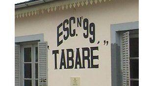 Robaron en la escuela Tabaré