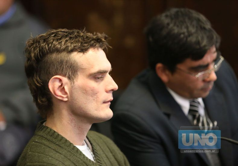 Cambio. El acusado se rehabilita y estudia en el penal. Foto UNO/Diego Arias