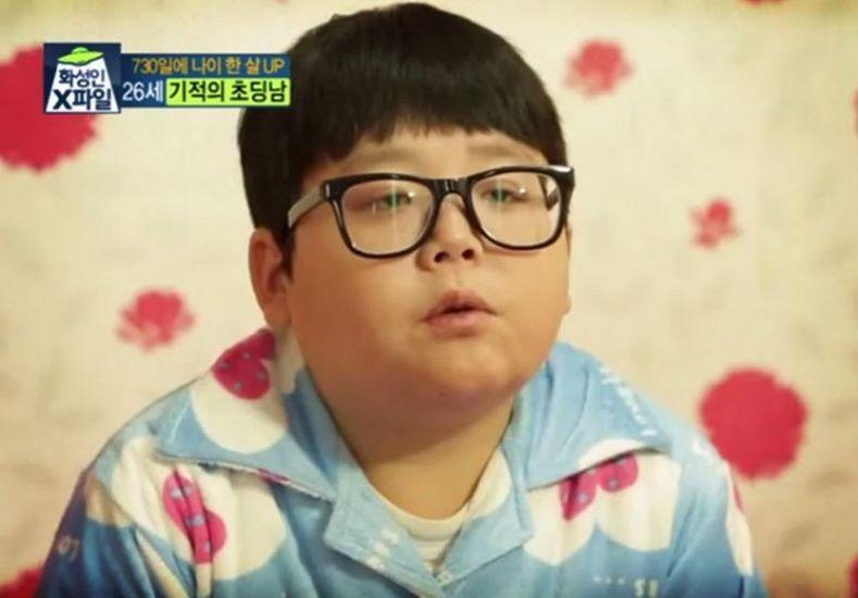 El nene coreano que no envejece