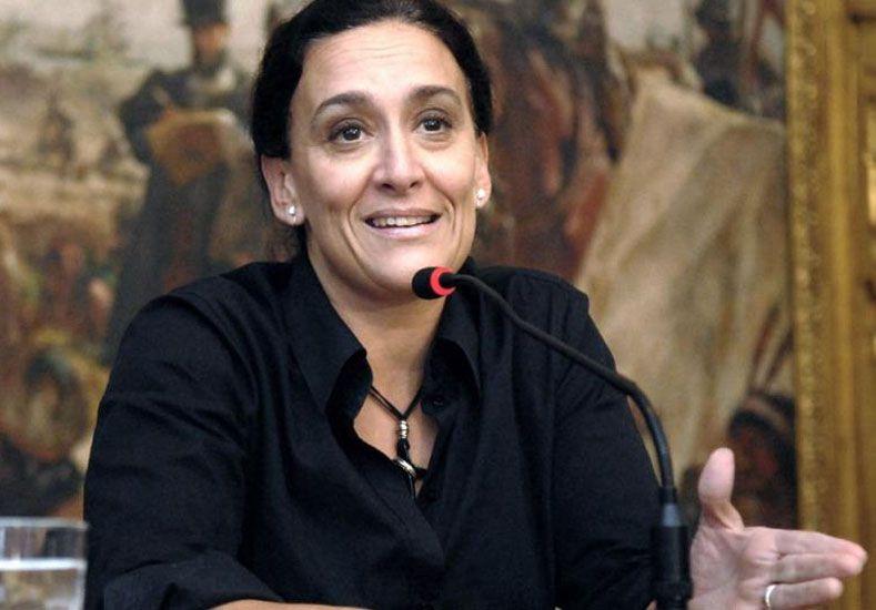 Gabriela Michetti. (Foto: Télam)