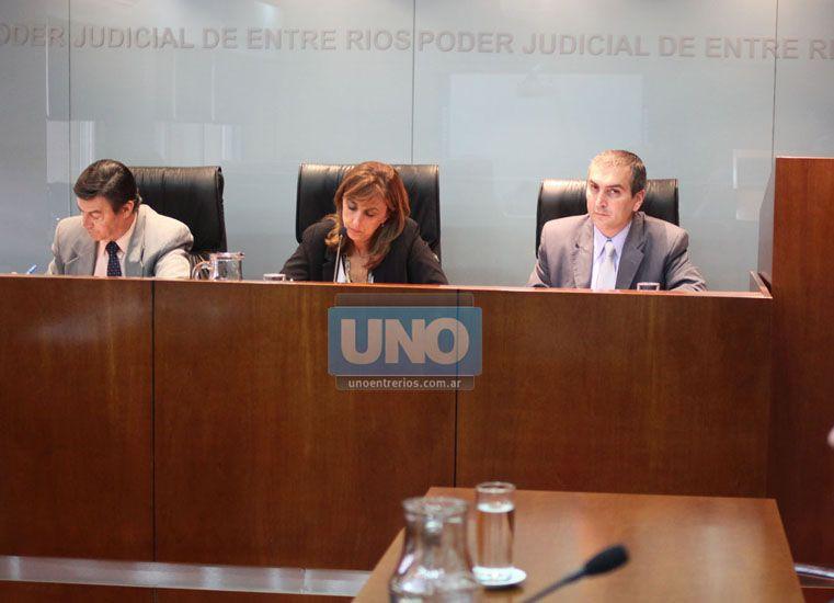 Los jueces Perotti