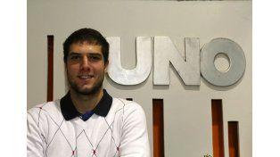 El jugador paranaense representará a Argentina en los Juegos Olímpicos Universitario