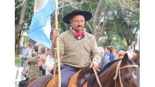 Carlos Maffini contó que los animales volverán a Oro Verde en un camión.   Foto Gentileza/Municipalidad de Oro Verde