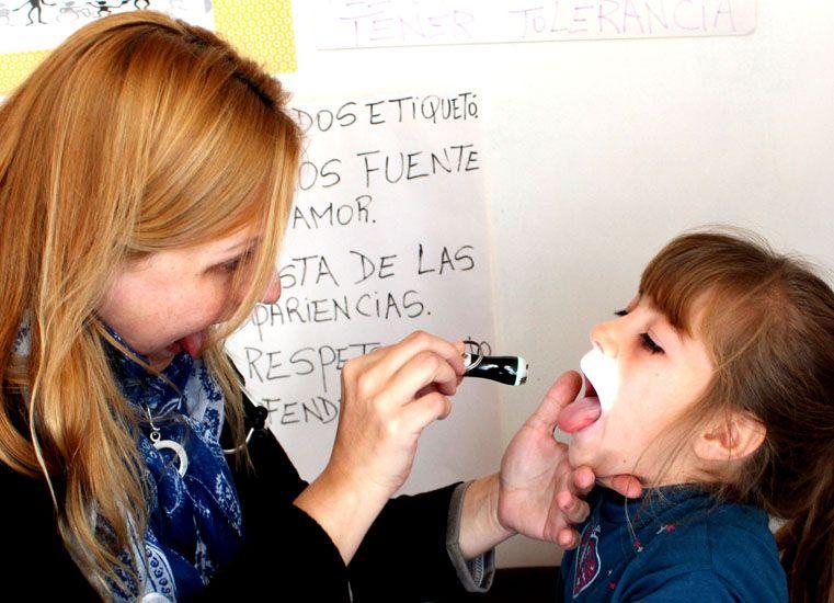 Realizaron controles sanitarios a niños en escuelas del departamento Ibicuy