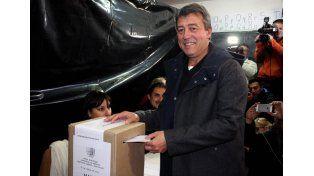 El candidato a gobernador de Mendoza por el Frente para la Victoria (FpV)