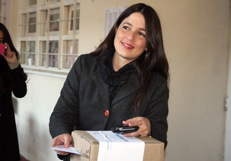 La senadora provincial Noelia Barbeito