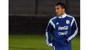 Carlos Tevez. Foto: Télam