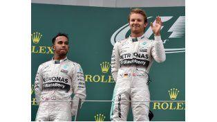 Nico Rosberg se ubica segundo ahora en el campeonato.