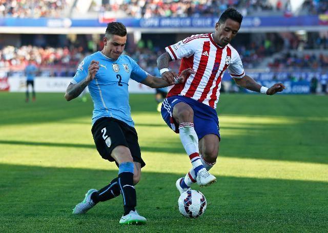 Uruguay y Paraguay igualaron 1 a 1