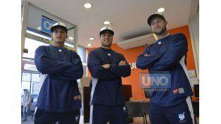 Los tres pitcher estuvieron en Diario UNO y palpitaron las dos citas.
