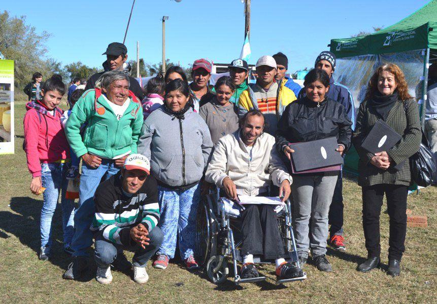 Reconocimiento. Sus integrantes participaron de un encuentro de Microemprendedores sociales.