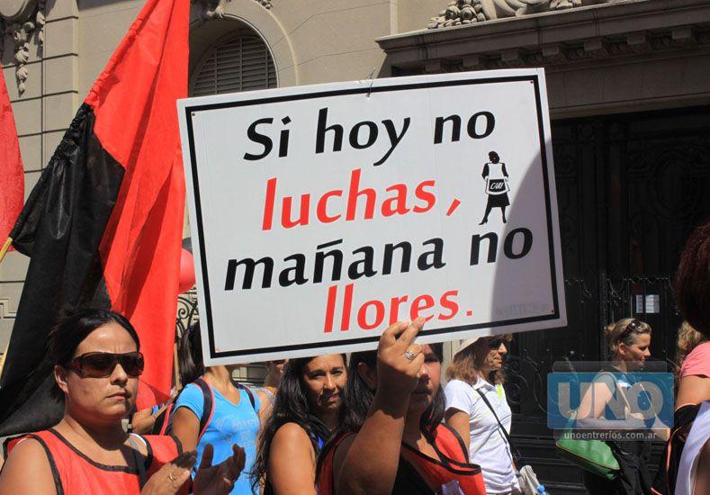 Agmer. Nueve seccionales priorizarán la lucha sindical. Foto UNO/Juan Ignacio Pereira