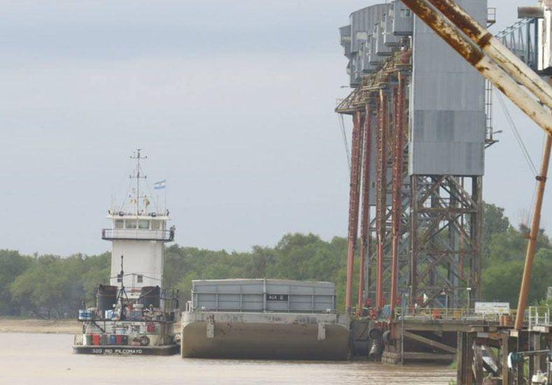 Más de 23.000 toneladas de soja embarcaron en el Puerto de Diamante